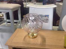  x1 llallia Flush Ceiling Lamp Blush Grey  RRP-   NO CODE 