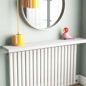 "Wayfair Basicsâ""¢ ,Floating Shelf Size: 4cm H x 90cm W x 23.5cm D, Finish: White -18.99 H091120 -"