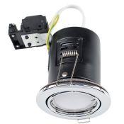 MiniSun, Fire Rated Tiltable Retrofit Downlight X10 (BLACK CHROME) - RRP £58.99 (MSUN4203 - 9531/10)