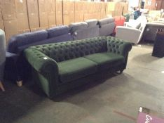 CHESTERFIELD AMALFI GREEN 4 SEATER(SFL1130 -700222