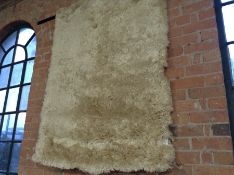 17 Stories,Kaydee Shaggy Cream Rug RRP £39.99 (CCO
