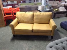 D'ARLO TWEEDY WEAVE YELLOW 2 SEATER(SFL1126 -70021