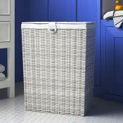 Wayfair Basics™, Laundry Bin (60X45CM)(WHITE) - RRP £20.99 (HOKF2967 - 20819/17) 1C