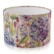 Brambly Cottage, Voyage Hydrangea Cotton Drum Lamp Shade - RRP £34.99 (DLPZ1500 - 20819/12) 1B