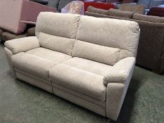BISCUIT HIGH BACK 3 SEATER SOFA (TROO2085-WOO82778