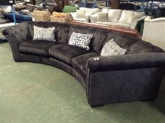 BLACK SADDLE LARGE 4 SEATER CURVE AND HALF MOON FO