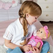 Luvabella Newborn Blonde Interactive Baby Doll, £60.00 RRP
