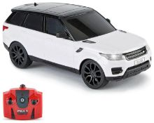 Radio Controlled Range Rover 1:24 Scale - White 2.4GHZ, £11.00 RRP