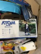 Atom Tri Scooter,INTEX Pool, Miscellaneous General Merchandise