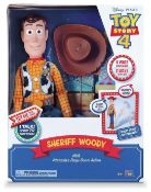 Disney Toy Story 4 Interactive Woody, £89.99 RRP