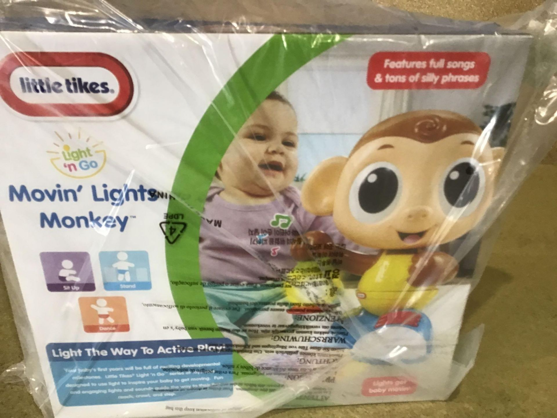 Little Tikes Moving Lights Monkey - £12.00 RRP - Image 3 of 4