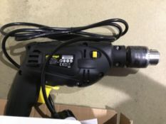 Challenge Corded Impact Drill - 500W - £15.00 RRP
