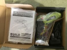 Guild Cordless Li-Ion Screwdriver - 3.6V - £9.00 RRP