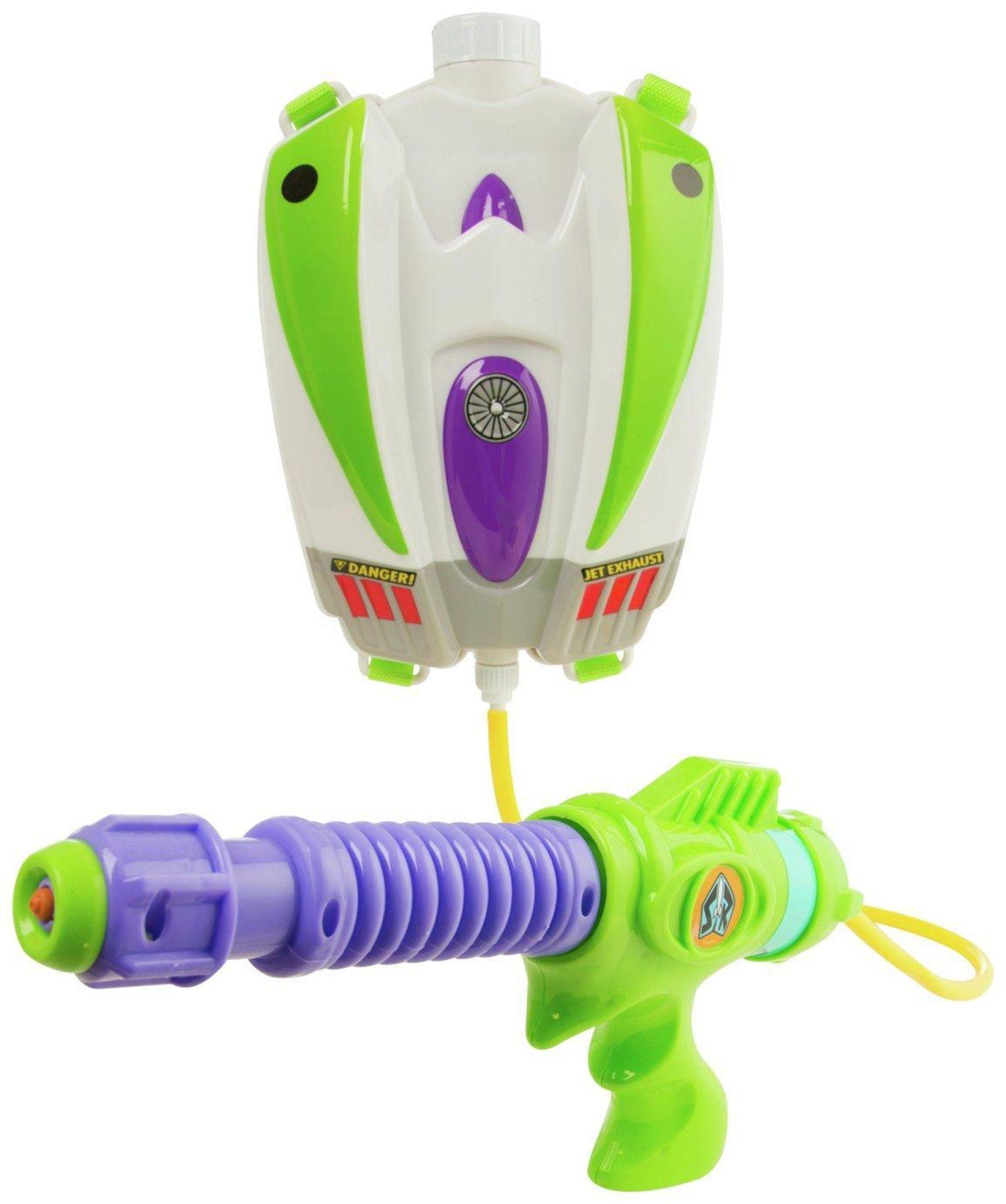 Disney Toy Story Buzz Lightyear Water Blaster Backpack, £10.00 RRP