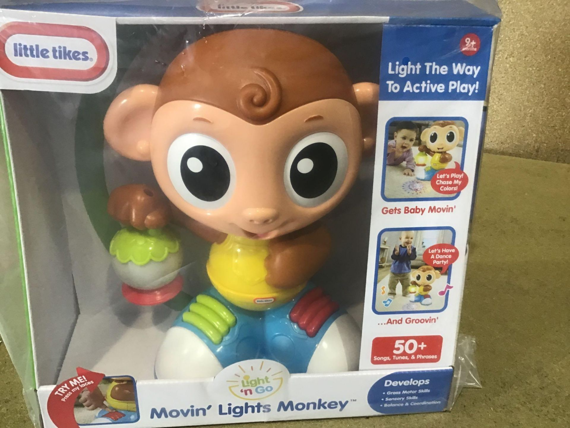 Little Tikes Moving Lights Monkey - £12.00 RRP - Image 2 of 4