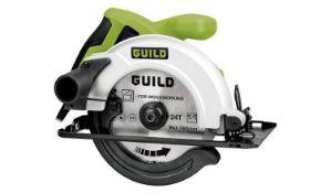 Guild 160mm Circular Saw - 1200W - £40.00 RRP