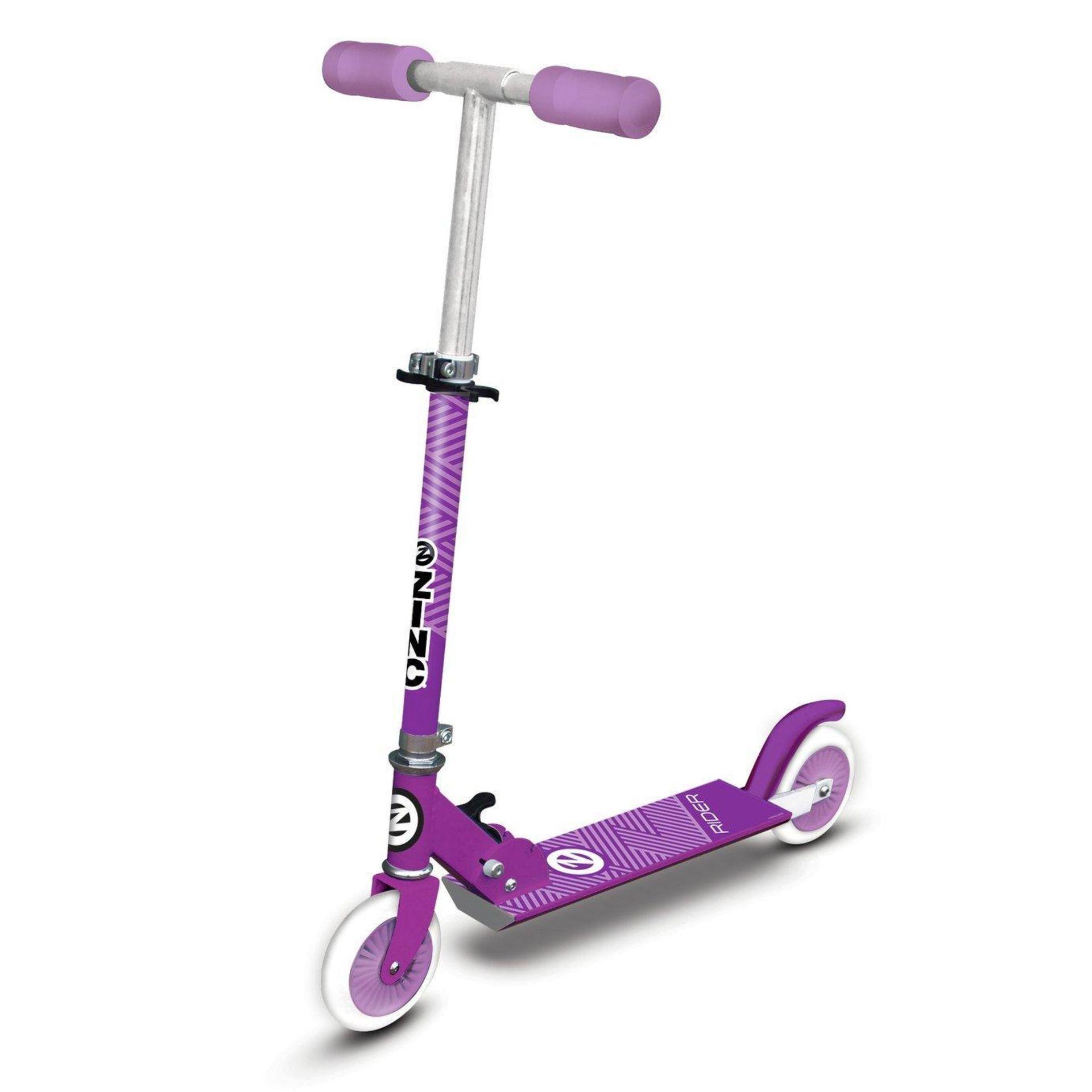 Zinc Folding Inline Scooter - Pink, £15.99 RRP