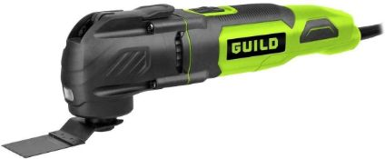 Guild 3-in-1 Multi-Tool with 20 Accessories – 300W - £40.00 RRP