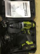 Guild Cordless Brushless Combi Drill - 18V - £68.00 RRP