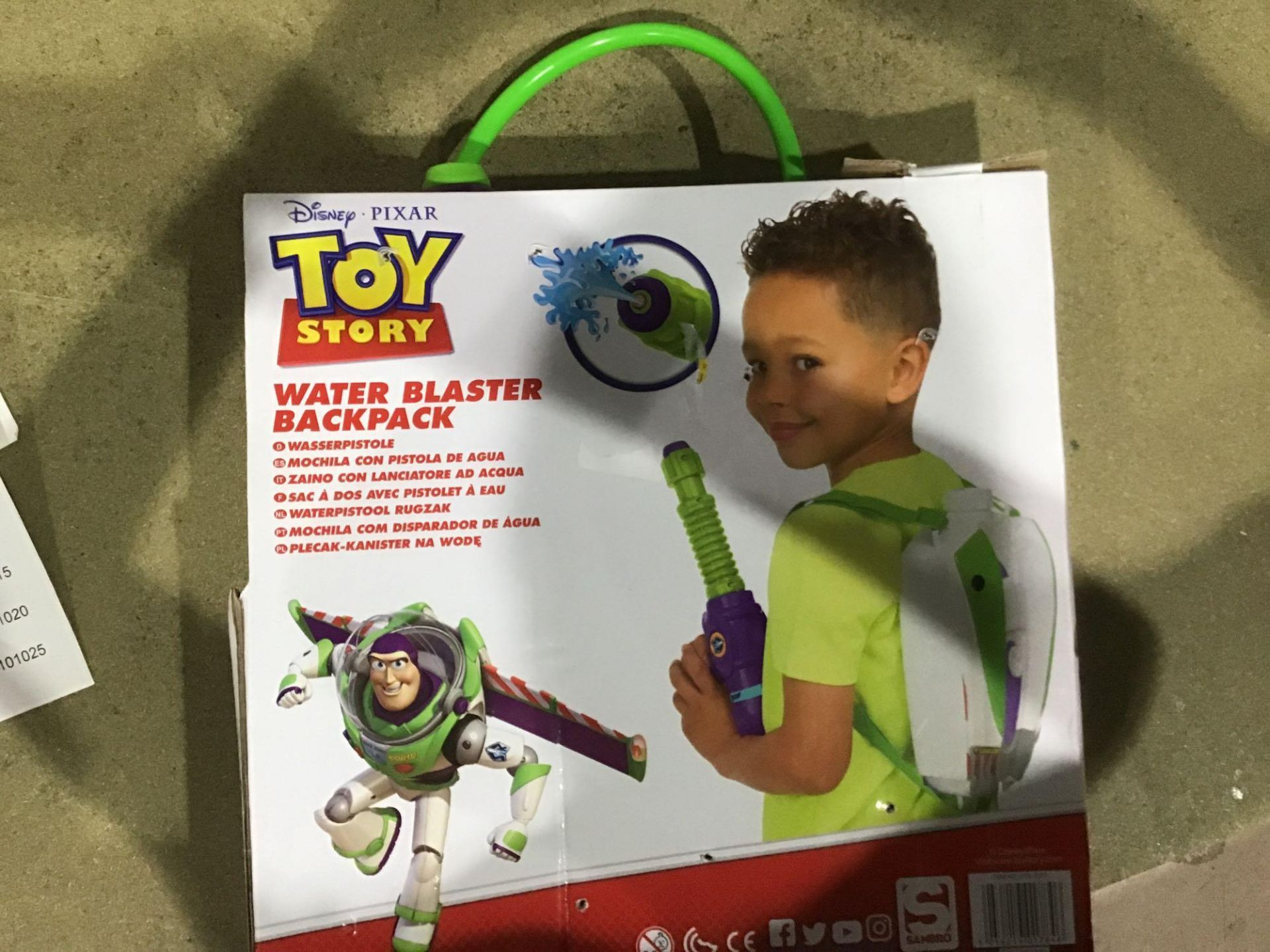 Disney Toy Story Buzz Lightyear Water Blaster Backpack, £10.00 RRP - Image 2 of 4