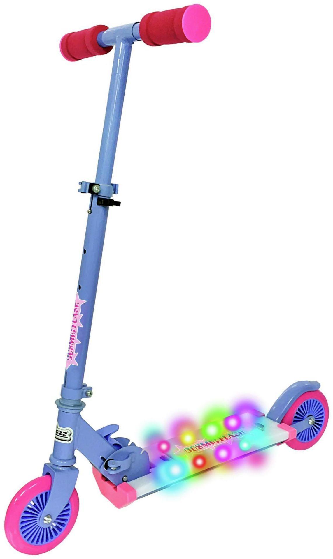 Ozbozz Cosmic Scooter - Light Pink, £29.99 RRP