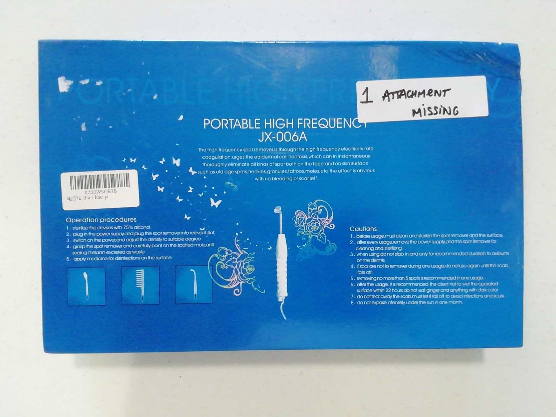 Lot 193 - Equipamento cuidado de beleza portatil Ultrasons (JX-006A)