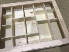 Wooden Kitchen Drawer Organizer for Kitchen Utensils