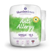 Slumberdown Anti Allergy Single Duvet 10.5 Tog All Seasons Duvet Single Bed - £14.99 RRP