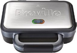 Breville Deep Fill Sandwich Toaster and Toastie Maker with Removable Plates £25.00 RRP