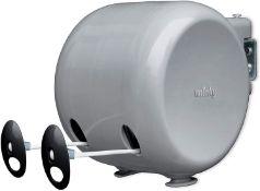 Minky Retractable Duo Reel Washing Line, Grey £13.99 RRP