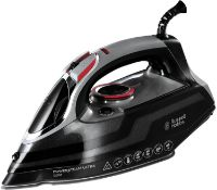 Russell Hobbs Powersteam Ultra 3100 W Vertical Steam Iron 20630 - Black and Grey £34.99 RRP