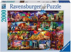 Ravensburger World of Books Puzzle 2000 Piece Jigsaw Puzzle for Adults