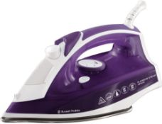 Russell Hobbs Supreme Steam Traditional Iron 23060, 2400 W, Purple/White £16.99 RRP