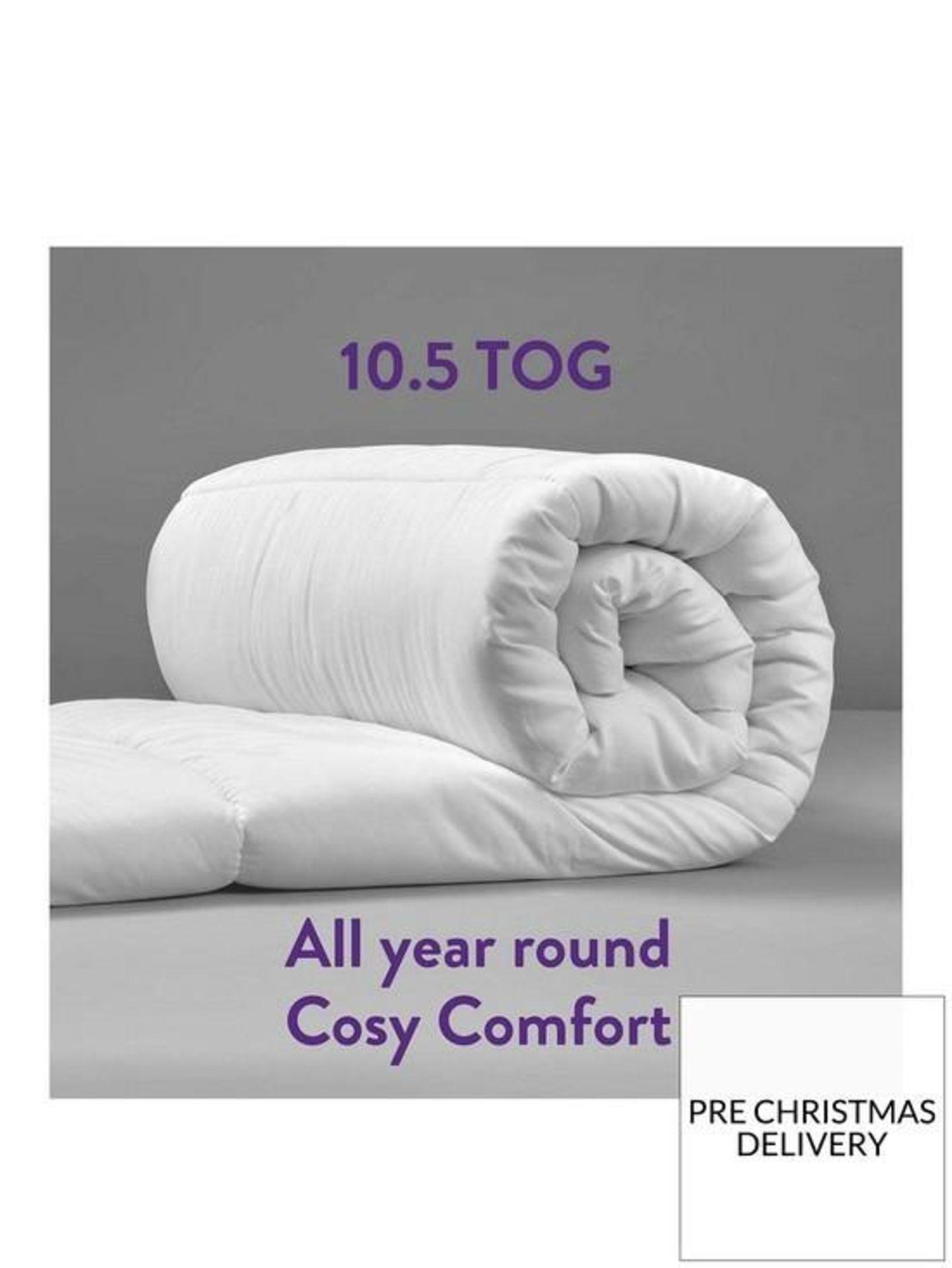 Slumberdown Climate Control King Size Duvet 10.5 Tog All Seasons Duvet King Size (5012924038323)