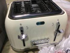 Breville Impressions 4 Slice Toaster – Cream