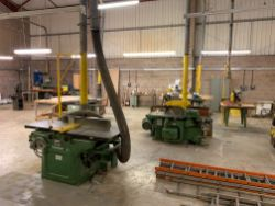 Unreserved Online Auction - The Assets of a Long Established General Contractor & Joiners Shop