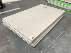 8no. Grey Plastic Coated Floor Mats 2000mm x 1200mm