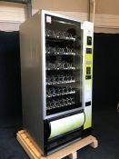 2014 Autobar Samba Snack AB125 Vending Machine, Key Not Present, 900 x 1830 x 800mm