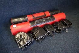 2no. Foam Battle Batons & 5no. Head protectors