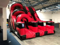 2018 Airquee 10ft Platform Drop Slide Combi, Serial Number: P34208, Complete with Pump. Please be