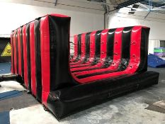 2018 Airquee Bungee Cord Obstacle Inflatable, Serial Number: P34271, Complete with Pump Please be