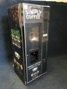 NECTA 962332 Coffee Dispensing/Vending Machine, Complete with Touchscreen/Monitor, 640 x 1830 x