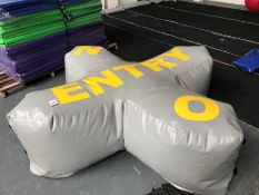 2018 Airquee Inflatable X 'No Entry' Sign
