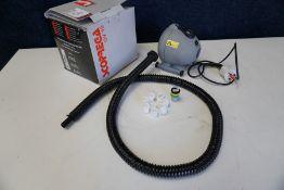Scorpregra OV 10 Inflator/Deflator, Complete with UK Adaptor ect as Lotted