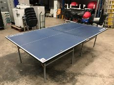 Slazenger Table Tennis Table as Lotted, No Net included.
