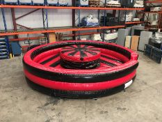 2018 Airquee Rock 'n' Roll Inflatable Battle Ring, Serial Number: P34212, Complete with Pump. Please