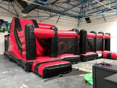 2018 Airquee 2 Part Multiplay Activity Centre, Serial Number: P34255, Complete with Pump.