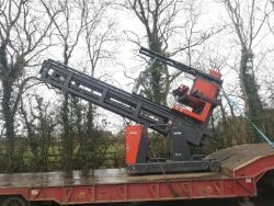 Unreserved Online Auction -  Salvage 2001 Linde K13 Narrow Aisle Forklift