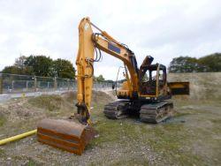 Unreserved Online Auction - Salvage 2013 Hyundai 140LC-9 Excavator