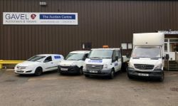 Unreserved Online Auction - Vans